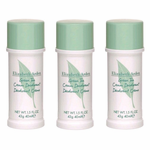 Green Tea by Elizabeth Arden, 3x1.5 oz (4.5 oz total) Cream Deodorant for Women