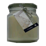 Hand Made Scented Soy 16 oz Classic Jar Candle - Vanilla