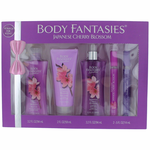 Japanese Cherry Blossom by Body Fantasies, 5 Piece Set for Women