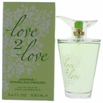 Jasmin & Sparkling Mimosa by Love2Love, 3.4 oz Eau De Toilette Spray for Women