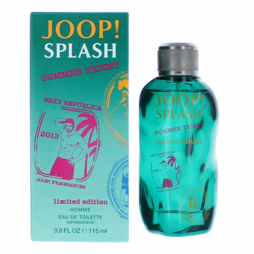 Joop! Splash Summer Ticket by Joop, 3.8 oz Eau De Toilette Spray for Men Limited Edition