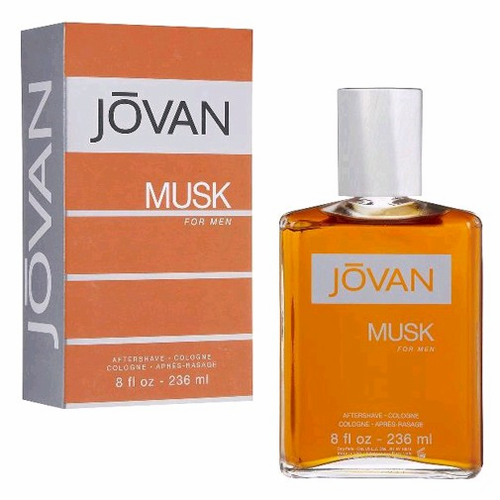 Jovan Musk by Coty, 8 oz After Shave/Cologne for Men