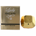 Lady Million Absolute Gold by Paco Rabanne, 2.7 oz Pure Parfume Spray for Women