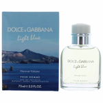 Light Blue Discover Vulcano by Dolce & Gabanna, 2.5 oz Eau De Toilette Spray for Men