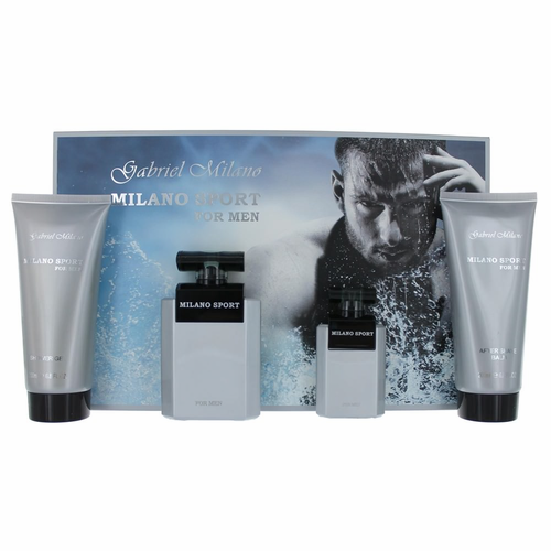 Milano Sport by Gabriel Milano, 4 Piece Gift Set for Men
