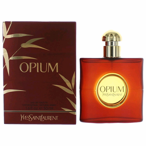 Opium by Yves Saint Laurent, 1.6 oz Eau De Toilette Spray for Women