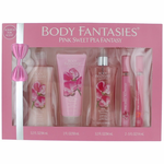 Pink Sweet Pea Fantasy by Body Fantasies, 5 Piece Set for Women