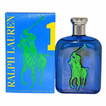 Polo Big Pony Blue #1 by Ralph Lauren, 4.2 oz Eau De Toilette Spray for men