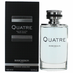 Quatre Pour Homme by Boucheron, 3.4 oz Eau De Toilette Spray for Men