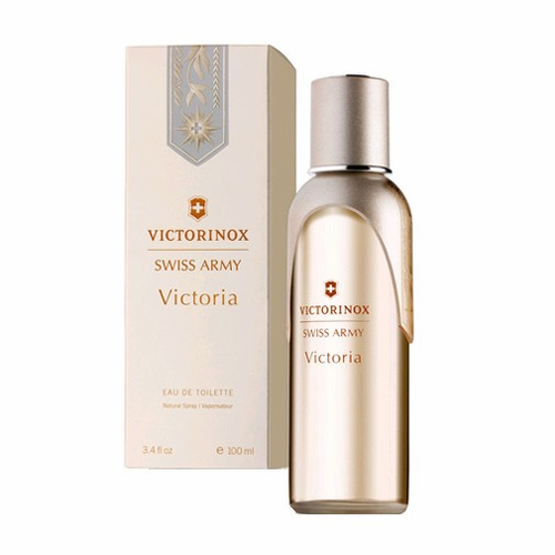 Swiss Army Victoria by Victorinox, 3.4 oz Eau De Toilette Spray for Women