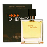 Terre D'Hermes by Hermes, 2.5 oz Parfum Spray for Men