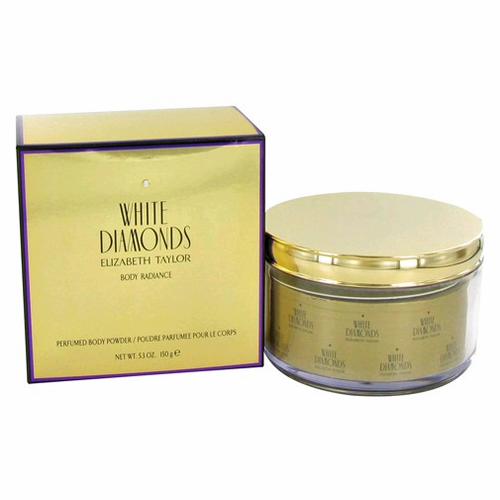 White Diamonds by Elizabeth Taylor, 5.3 oz Perfumed Body Powder for Women