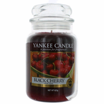 Yankee Candle Scented 22 oz Large Jar Candle - Black Cherry