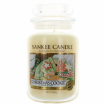 Yankee Candle Scented 22 oz Large Jar Candle - Christmas Cookie
