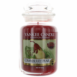 Yankee Candle Scented 22 oz Large Jar Candle - Cranberry Pear