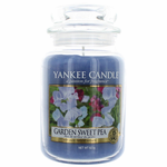 Yankee Candle Scented 22 oz Large Jar Candle - Garden Sweet Pea