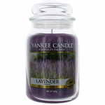 Yankee Candle Scented 22 oz Large Jar Candle - Lavender