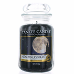 Yankee Candle Scented 22 oz Large Jar Candle - MidSummer's Night