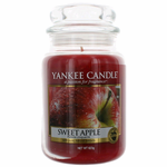 Yankee Candle Scented 22 oz Large Jar Candle - Sweet Apple