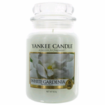 Yankee Candle Scented 22 oz Large Jar Candle - White Gardenia