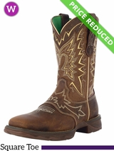 10B Lady Rebel by Durango Women's Let Love Fly Western Boot RD4424 CLEARANCE