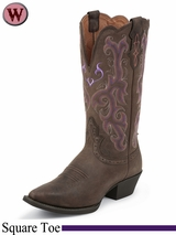 11C Wide Women's Justin Boots