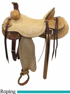 "12"" 13"" American Buckaroo Ranch Saddle 655"