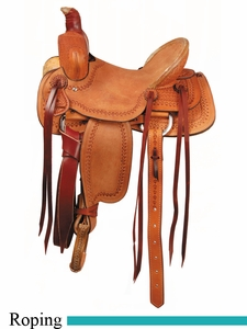 "12"" 13"" American Saddlery Buckaroo Jr. Youth Roper Saddle 655"