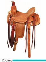 "12"" 13"" American Saddlery Buckaroo Jr. Youth Roper Saddle am655"