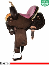 "** SALE ** 12"" 13"" Circle Y Youth Avenger Barrel Saddle 1179"