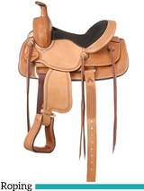"12"" to 13"" Royal King Dalton Youth Roper Saddle 125"