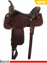 "** SALE ** 12.5"" to 15.5"" Martin Saddlery B*T*R Custom Barrel Racer 66-C1"