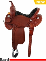"** SALE ** 12.5"" to 15.5"" Martin Saddlery B*T*R Custom Barrel Racer 66-C2"