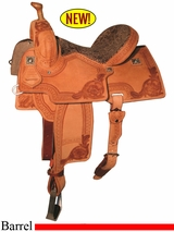 "12.5"" to 15.5"" Reinsman Marlene McRae Special EFFX Barrel Saddle 4240"