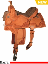 "** SALE ** 12.5"" to 15.5"" Reinsman Marlene McRae Special EFFX Barrel Saddle 4240"