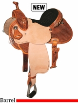 "12.5"" to 15.5"" Reinsman Marlene McRae Special EFFX Barrel Saddle 4241"