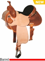 "** SALE ** 12.5"" to 15.5"" Reinsman Marlene McRae Special EFFX Barrel Saddle 4241"