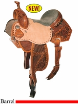 "12.5"" to 15.5"" Reinsman Marlene McRae Special EFFX Barrel Saddle 4242"