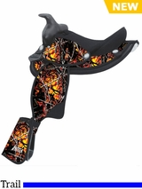 "12"" Abetta Moon Shine Camo Youth Saddle 205762"