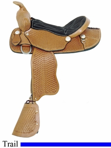 "12"" American Saddlery Little Brother Pony Saddle 153"