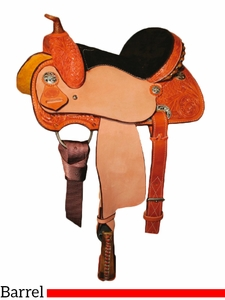 "** SALE ** 10"" to 13"" Circle Y Little Cowpoke Youth Barrel Racer Saddle 3002"