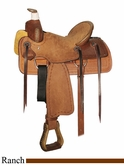 "** SALE **12"" Circle Y Little Cowpoke Youth Rancher Saddle 3003"