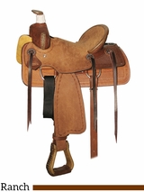 "10"" to 13"" Circle Y Little Cowpoke Youth Rancher Saddle 3003"