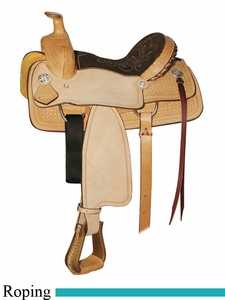 "** SALE **12"" Circle Y Little Cowpoke Youth Roper Saddle 3001"
