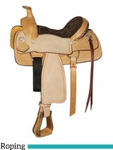 "10"" to 13"" Circle Y Little Cowpoke Youth Roper Saddle 3001"