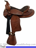 "12"" Dakota Custom Chocolate Pony Saddle 950sch"