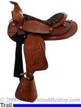 "12"" Dakota Chocolate Pony Saddle 950sch"