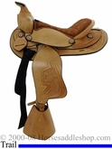 "12"" Dakota Custom Light Oil Pony Saddle 950slo"