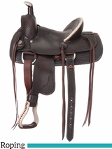 "12"" 13"" Royal King Liberty Youth Roper Saddle 123"