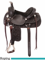 "12"" 13"" Royal King Lone Star Youth Roper Saddle 122"